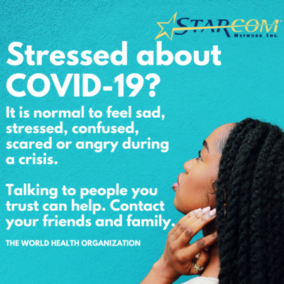 Copy of Copy of COVID-19 STRESS