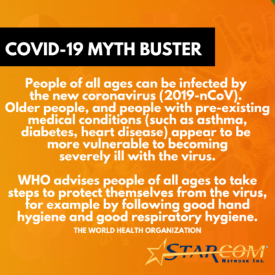 COVID-19 MYTH BUSTER 2nd PIC FB (1)
