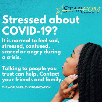 Copy of Copy of COVID-19 STRESS